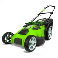 G-MAX 40V Газонокосилка 49 см GREENWORKS G40LM49DB Twin Force, арт. 2500207