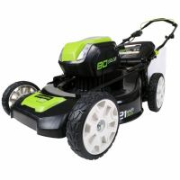 80V Pro 80V Газонокосилка 51 см GREENWORKS GD80LM53 DigiPro, арт. 2500707